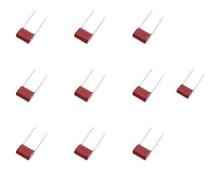 10 x Condensador Poliester Quitar Parpadeo Led 470nF 0,47uF 400V ...
