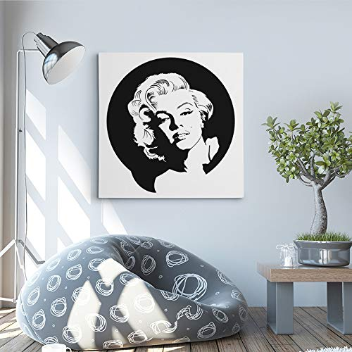 Vega Canvas Paintings - Marilyn Monroe Modern Canvas Artworks - Bring Color to Your Home Paintings (20