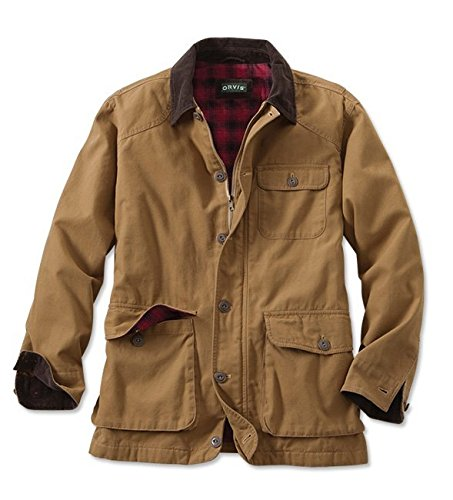 - Orvis Men's Classic Barn Coat, Tobacco, X Large
