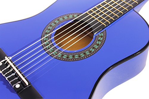 """Music Alley MA-52 30"""" Half Size Junior Guitar For Young Kids - Image 3"""