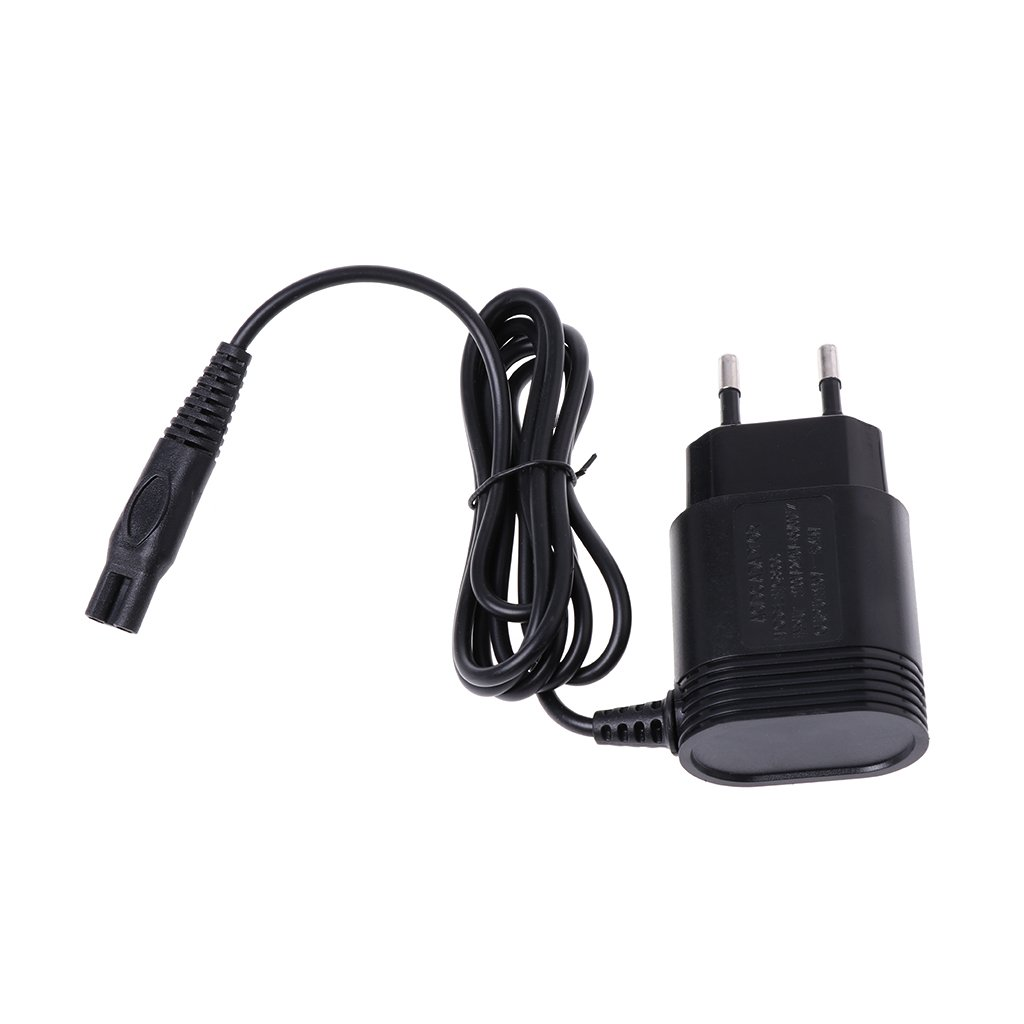 Longsw 2-Prong Charger EU Plug Power Adapter for Philips Shavers HQ8505/6070/6075/6090