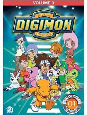 Digimon Adventure 3 [Reino Unido] [DVD]: Amazon.es: Cine y Series TV