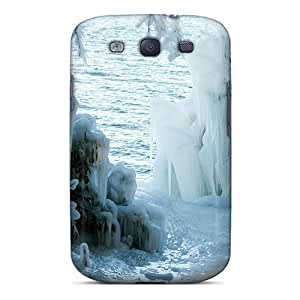 New Arrival A Winter Freeze VmCNAQk3486UPmGg Case Cover/ S3 Galaxy Case