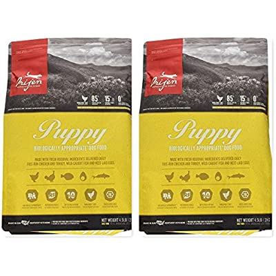 Orijen 2 Bag Bundle Puppy Food 4.5 lb. Each. Grain Free Dog Food!! 9 Pounds Total