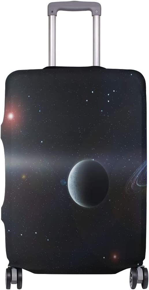 Accessories Elastic Travel Planet Space Sky Fantasy Futuristic Suitcase Protector Luggage Cover Fits 26-28 Inch