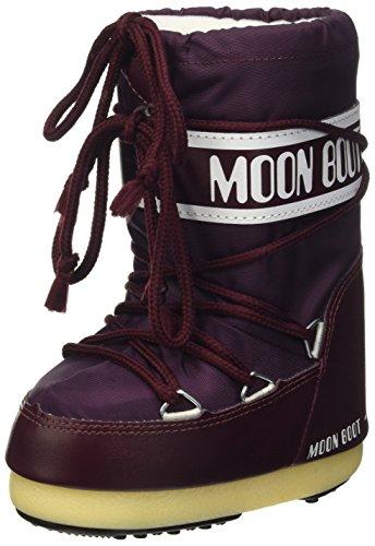 Pas Moon 24 Pour Bébé Unisexe borgogna Chaussures Viola enfants 0 Mois Violet À 140044 Premiers Boot De rW7Iqr