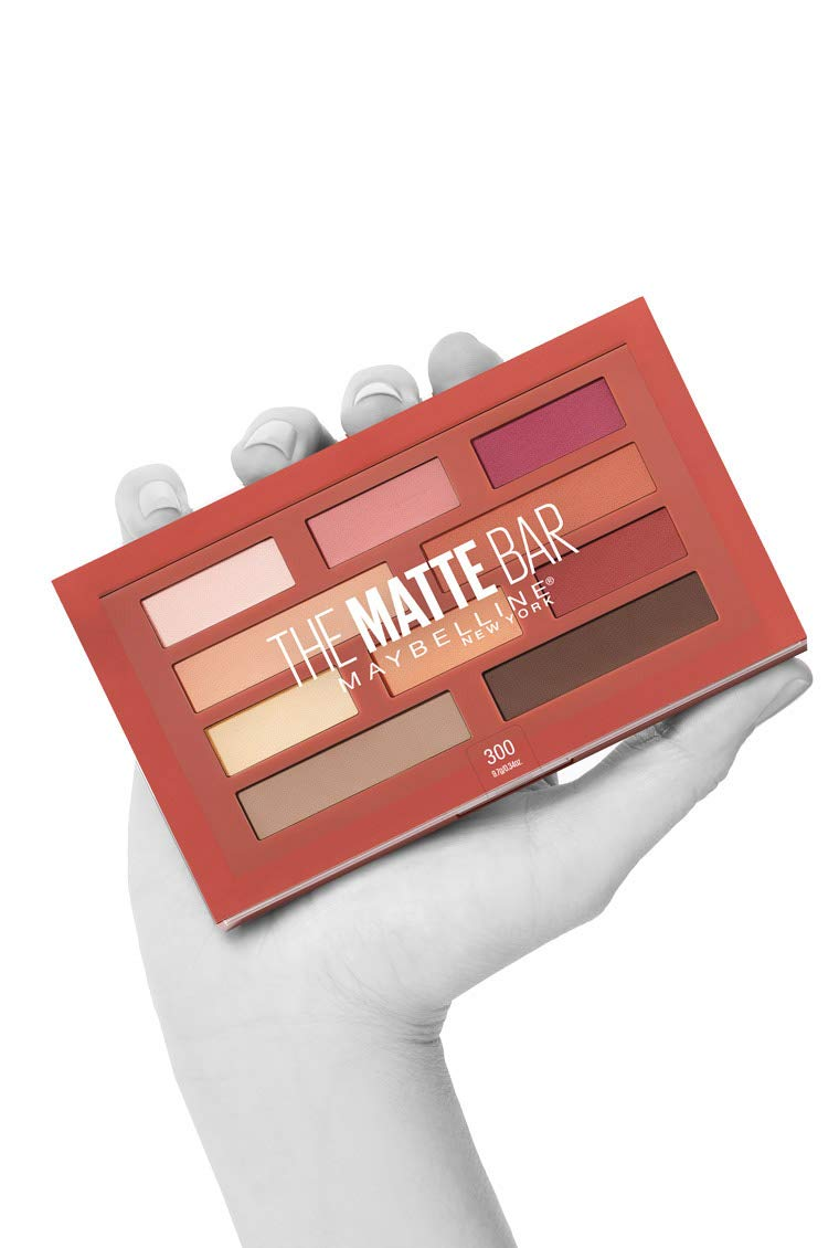 1dad70b8a40 Buy Maybelline New York The Matte Bar Eyeshadow Palette Makeup 0.34 Ounce  Online at Low Prices in India - Amazon.in