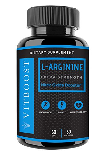 Extra Strength L Arginine 1200mg Nitric Oxide Supplement for Stamina, Muscle, Vascularity & Energy – Powerful N.O. Booster with L-Citrulline & Essential Amino Acids to Train Longer & Harder Review