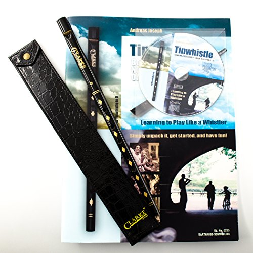 histle Value Bundle with Tinwhistle, Pouch, Book and CD ()