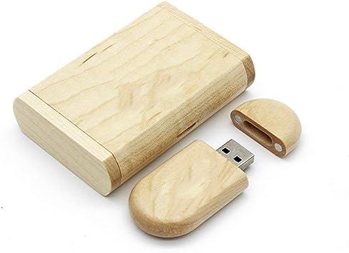 Memoria Flash Stick 8G Madera de Arce Natural USB 2.0 Unidades ...