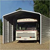 10' H x 20' W Carport Color: Blue, Length: 29'