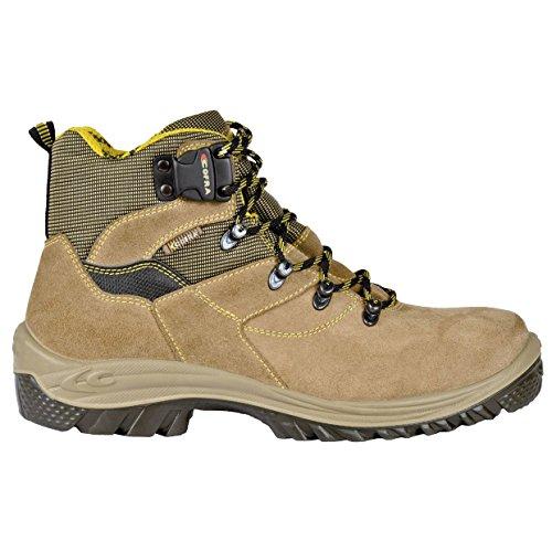 Cofra Ragusa S1P SRC par de zapatos de seguridad talla 40Beige
