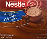 nestles hot chocolate fat free - Nestle Cocoa Mix No Sugar Added 30 Count .28 Oz Packets