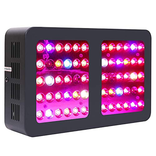 Price comparison product image iPower GLLEDXA300CNEW 300W LED Grow Light Full Spectrum for Indoor Plants Veg and Flower