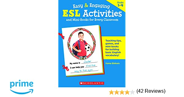 Amazon.com: ESL Activities and Mini-Books for Every Classroom ...