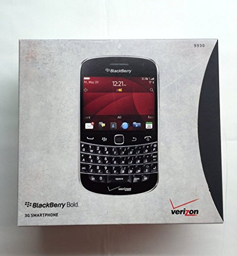 Verizon Rim (Verizon Wireless BlackBerry Bold Touch 9930 smartphone NO CONTRACT REQUIRED - BLACK)