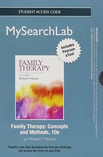 MySearchLab with Pearson eText -- Standalone Access Card -- for Family Therapy: Concepts and Methods