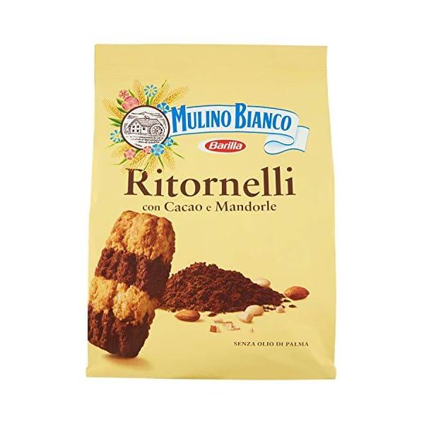 Mulino Bianco Biscotti Ritornelli con Cacao e Mandorle per una Colazione Gustosa - 700 g 1 spesavip