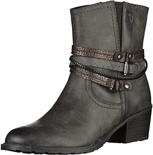 Marco 2 Womens Booties Anthrazit 25 25359 Tozzi 5r74xq5F