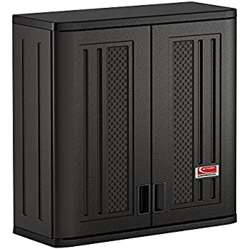 Amazon.com: Suncast Commercial Blow Molded Wall Cabinet: Home ...