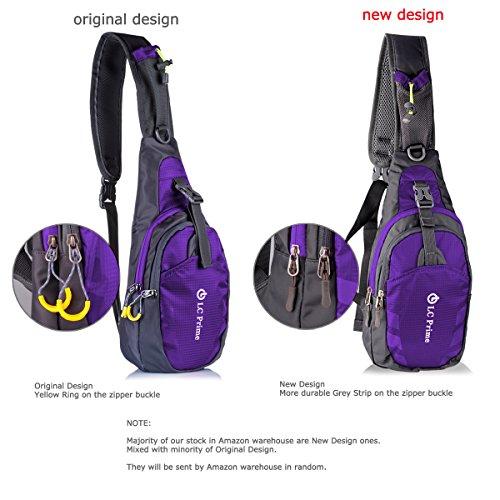 effdfcdd7ea6 LC Prime® Sling Bag Chest Shoulder Unbalance Gym Fanny - Import It All