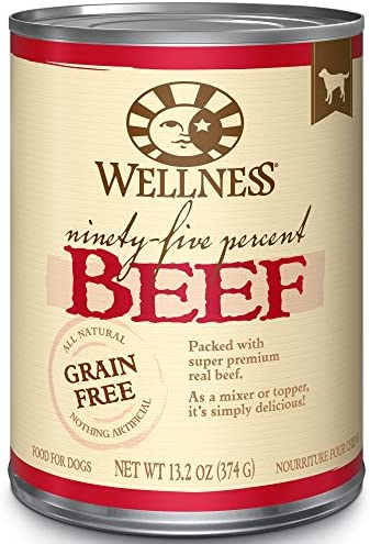 Wellness 95 Natural Wet Grain Free Canned Dog Food