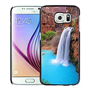 Nature 1 For Samsung Galaxy S6 Black Case Cover