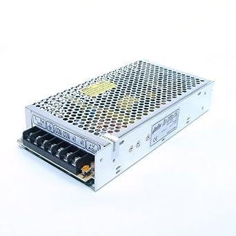 Amazon.com: AmpFlow S-100-12 100W, 8.5A, 12V DC Power Supply ...