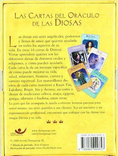 Libro guía para las cartas del oráculo de las diosas ...