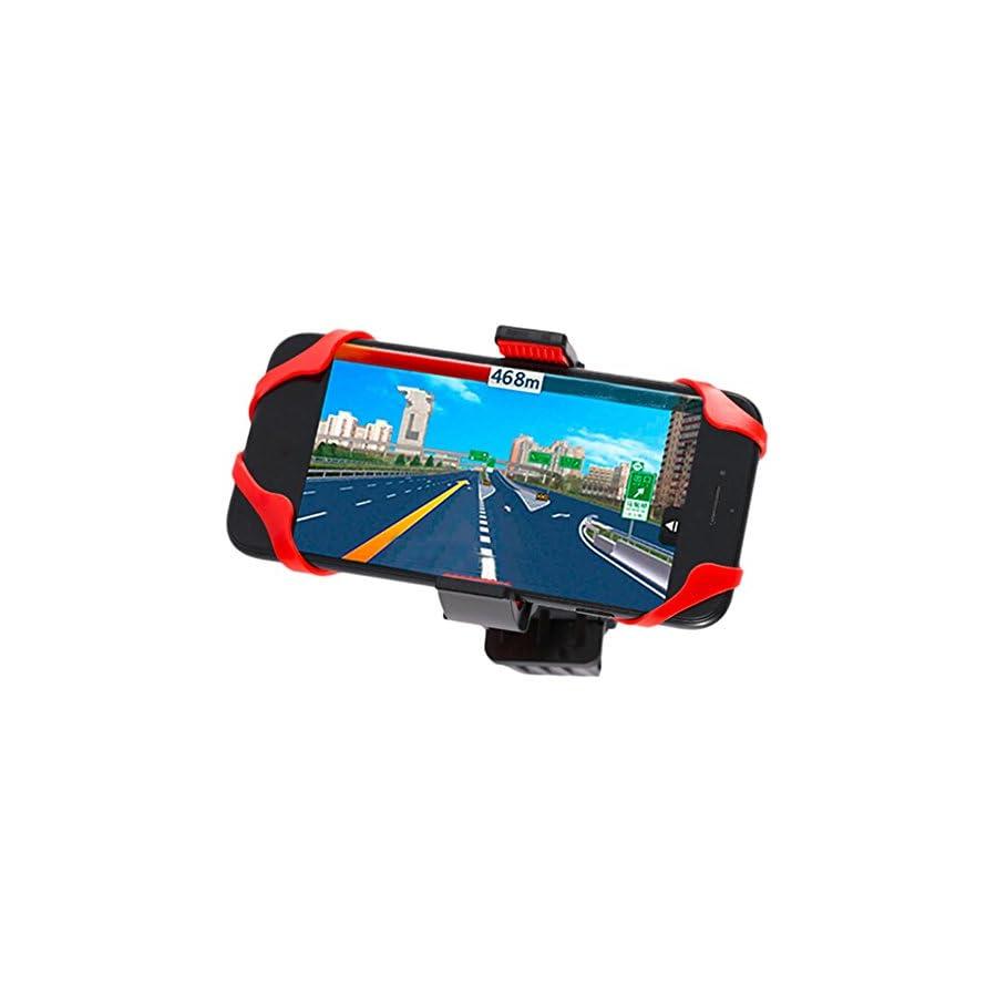Floor 360° Rotatable Bike Phone Mount Bicycle Phone Holder, Cell Phone Bicycle Handlebar & Motorcycle Holder