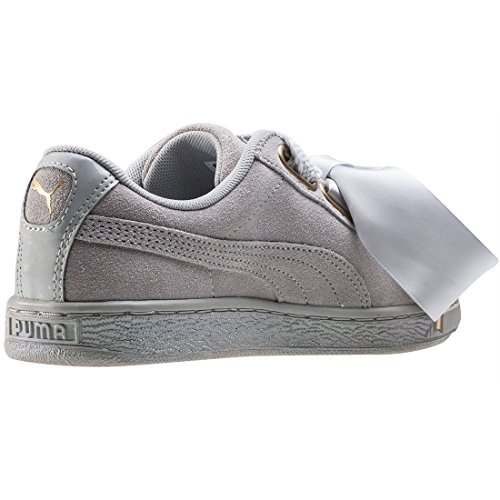 Sneakers Heart Femme Satin Violet II Puma Suede Gris Basses x5gqqFI