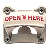 Extra Heavy Duty and Stronger with 4 Mounting Holes, Soula Designs Wall Surface Mount Beer and Soda Bottle Opener, Free Hardware Included, Mounts Easily Review