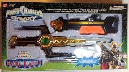 Power Rangers Lost Galaxy Magna Blaster Weapon MISB MIB NEW Bandai 1999 (Power Ranger Lost Galaxy compare prices)