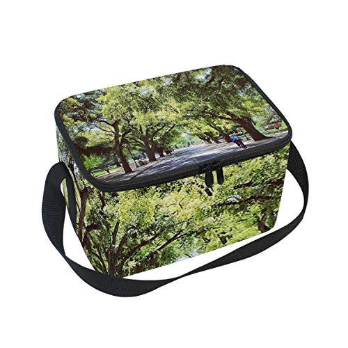(Lunch Bag Cooler Tote Bag Spring At Uc Davis Lunchbox Meal Prep Handbag for Picnic School Women Men Kids)