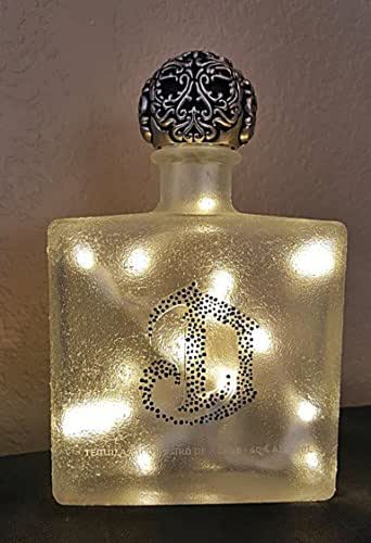 Amazon.com: Deleon Tequila Bottle/Table Lamp with LED Lights ...