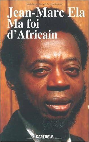 En ligne téléchargement gratuit Ma foi d'Africain pdf epub