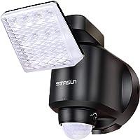 STASUN 250LM Wireless Battery-Operated Motion Sensor Light Outdoor LED Floodlight for Patio, Garage, Garden, Front Door etc.