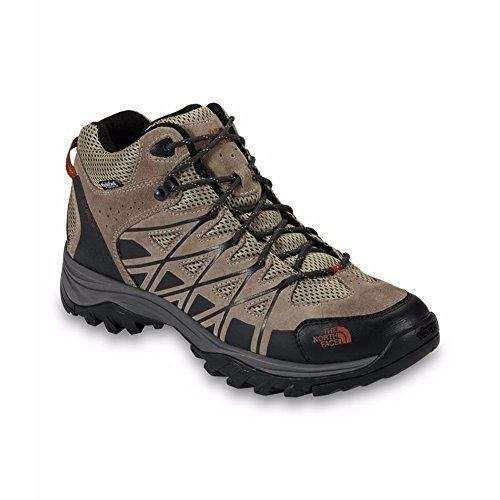 Spice Face (The North Face Storm III Mid WP Boot Men's Dune Beige/Arabian Spice 11)