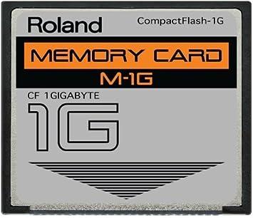 Amazon.com: 1 GB Roland m-1g CompactFlash Tarjeta de memoria ...