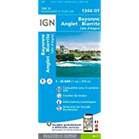 Bayonne / Anglet / Biarritz 1:25 000 (Top 25 & série bleue - Carte de randonnée)