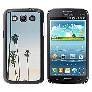 All Phone Most Case / Hard PC Metal piece Shell Slim Cover Protective Case Carcasa Funda Caso de protección para Samsung Galaxy Win I8550 I8552 Grand Quattro Trees Sky Summer Beach Tropics