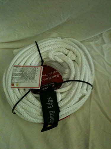 Winning Edge White 70' 5-Section Wakeboard Low Stretch Ply E Tow Line by Winning Edge