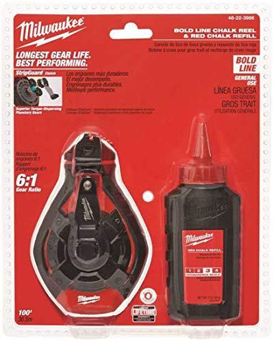 Milwaukee ELEC Tool 48-22-3986 Bold Line Chalk Reel ()