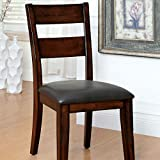 247SHOPATHOME IDF-3187SC Dining-Chairs, Cherry