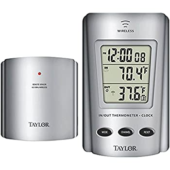 Amazon.com : Taylor 1434 Digital Wireless Thermometer with