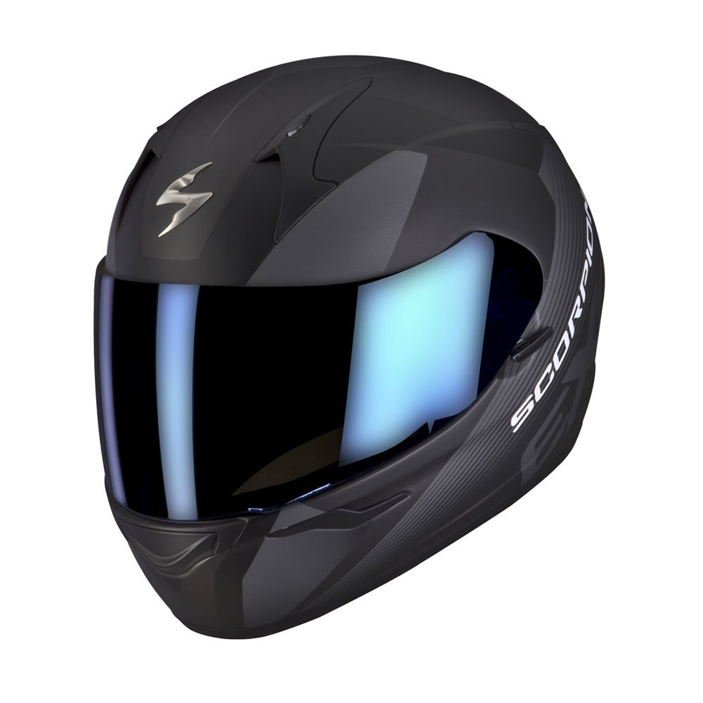 Amazon.es: Scorpion Exo-410 Air Slicer - Casco integral, color negro mate y gris