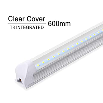 Bombilla LED Tubo T8 600 mm 2 pies Tubo LED Luz 10W LED Tubo integrado 220V