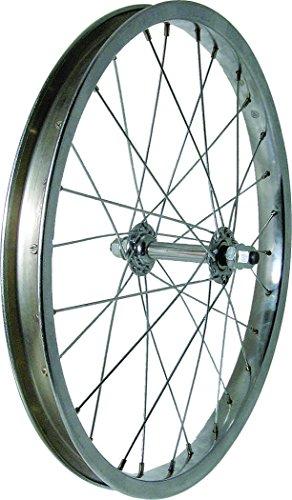 Wheel Steel 18'' Front Silver 5/16'' Axle by Action