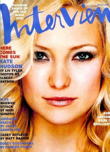 Download Interview Magazine - March 2003 - Kate Hudson cover pdf epub