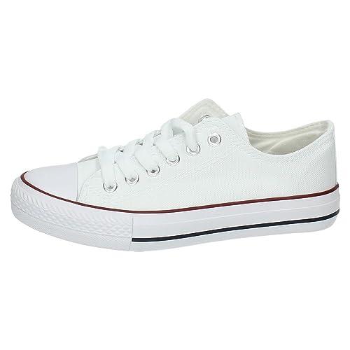 DEMAX 7-A1612A-12 Lonas Blancas Mujer Zapatillas: Amazon.es: Zapatos y complementos